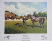 Terence Cuneo, Royal Stallion, Offset Lithograph