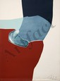 Gilou Brillant, Abstract Aquatint Etching, GIlou Brillant, Click for value