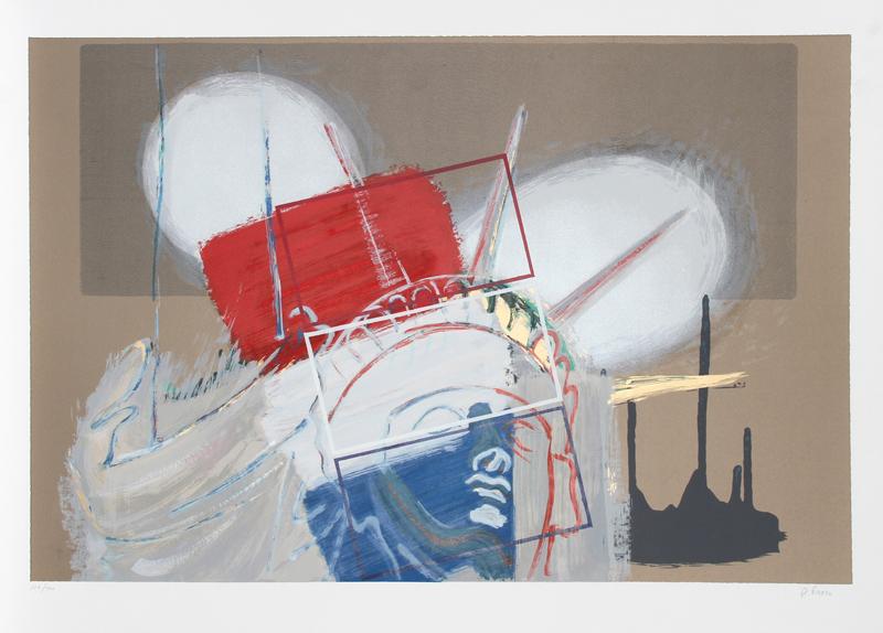 Rainer Gross, Liberty, Silkscreen