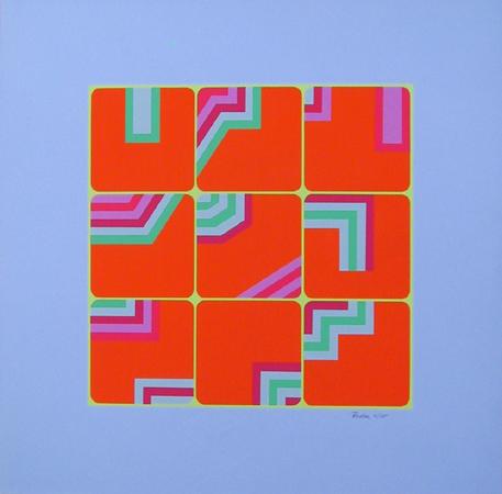 Arthur Boden, Puzzle, Serigraph
