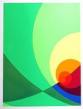 Herbert Aach, Split Infinity #4BS, Serigraph