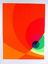 Herbert Aach, Split Infinity #8BS, Serigraph