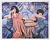 Robert Anderson, Judgement of the Moon & Stars, Lithograph, Robert Raymond Anderson, Click for value