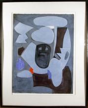 Eduardo Arranz-Bravo, Blue from the Sweerts Suite, Acrylic Painting