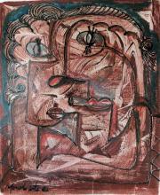 Menelaw Sete, Psicodelico, Acrylic Painting