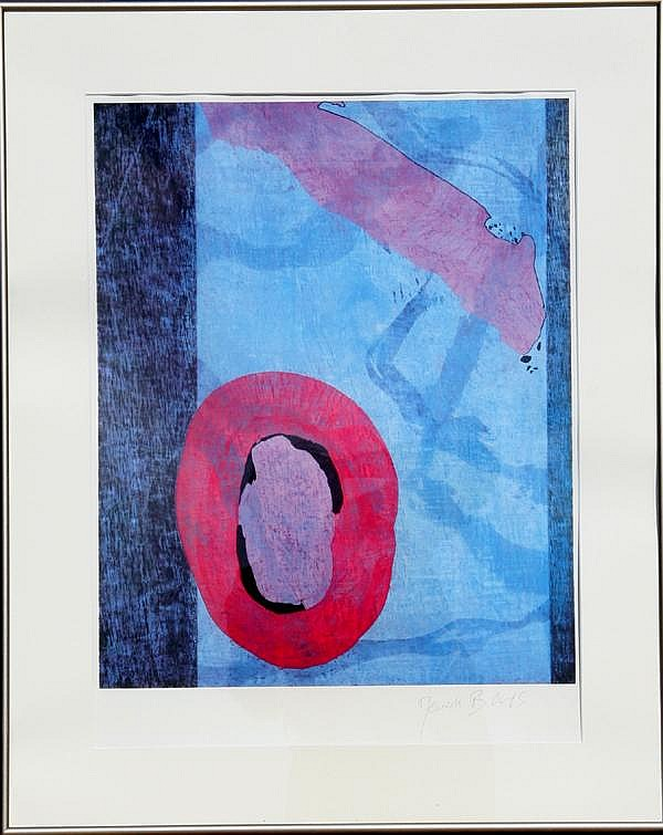 Jeanick Bouys, Abstract Lithograph