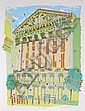 Susan Pear Meisel, Stock Exchange, Screenprint, Susan Pear Meisel, Click for value