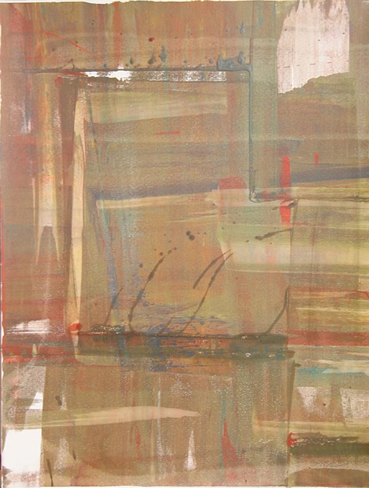 Liu Jian, X, Monoprint