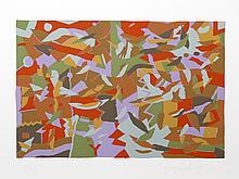 Douglas Leichten, Blue Harmony, Serigraph