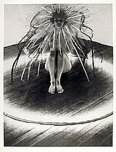 Mary Beth Edelson, Bride of the Fire, Lithograph