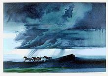 Robert Peak, Pele (Horses Gallop), Lithograph