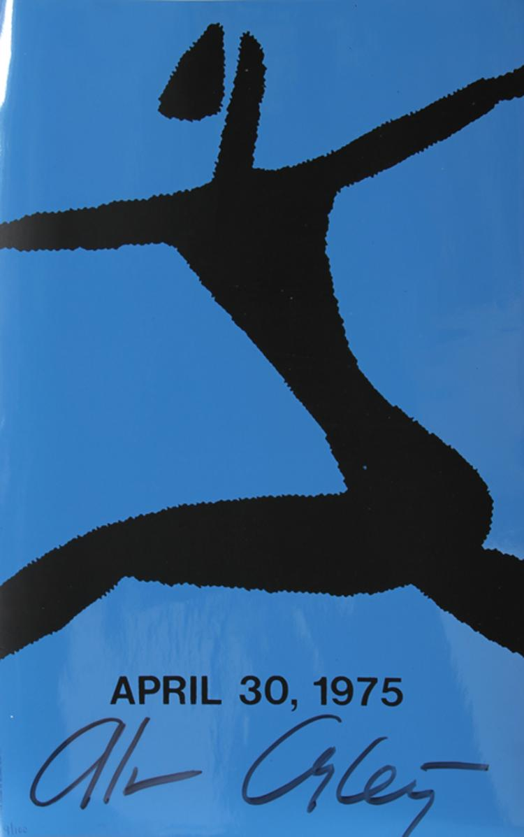 Alvin Ailey, Dancer 1, Silkscreen, Signed and numbered in ink