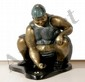 Bruno Luna, Jugando Canicas, Bronze Sculpture, Bruno Luna, Click for value