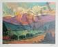 Max Hayslette, Sunrise Suite I, Lithograph, Max Hayslette, Click for value