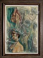 George Russin, The Dream, Oil Painting, George Russin, Click for value