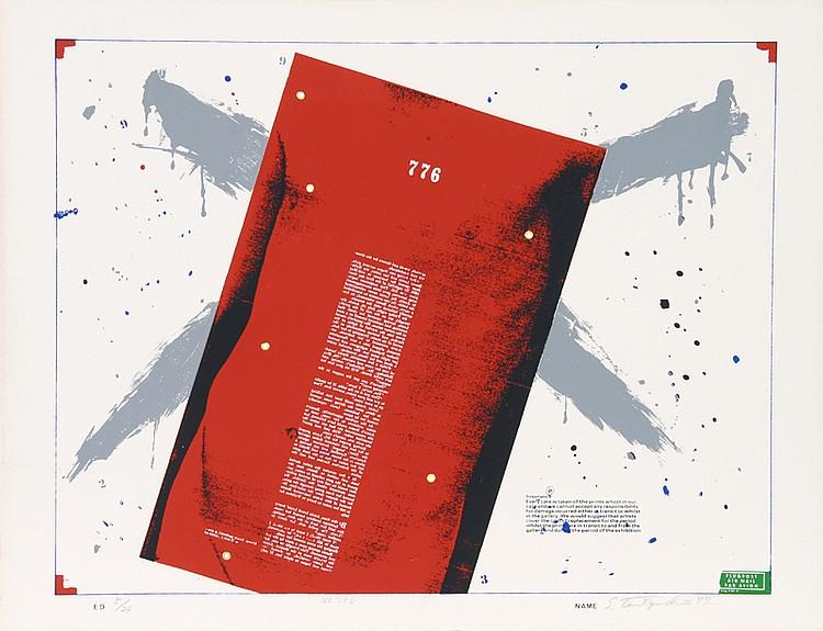 Shigeru Taniguchi, No. 776, Silkscreen