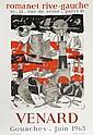 Claude Venard, Exhibition Romanet Rive-Gauche, Lithograph Poster