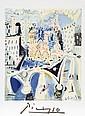 Pablo Picasso, Notre Dame, Lithograph