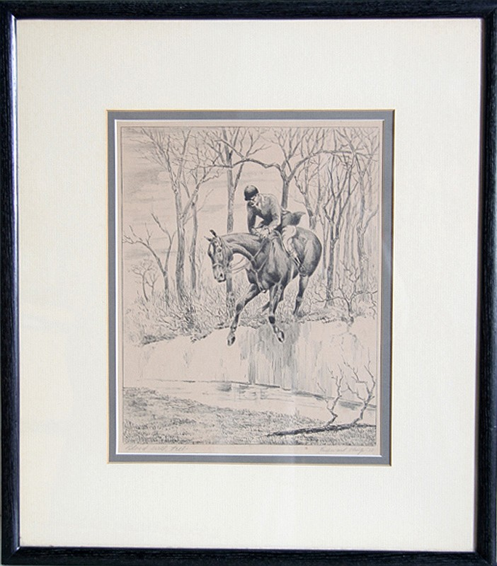 Edward King, Blood Will Tell, Lithograph