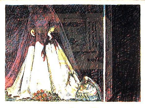 John Hardy, Bride, Serigraph