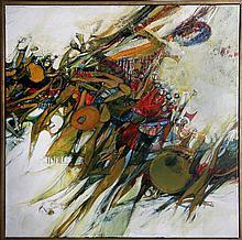 Sandra Gierke, Untitled, Oil Painting
