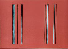 Gene Davis, Lilac, Lithograph