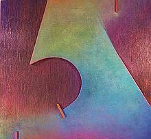 Warren Wolf, Abiyer & Cashowk #8, Oil Painting