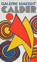 Alexander Calder, Galerie Maeght, Lithograph Poster
