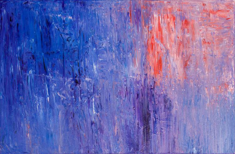 Polly Perruchot, Purple Dream, Painting