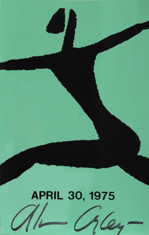 Alvin Ailey, Dancer 4, Silkscreen