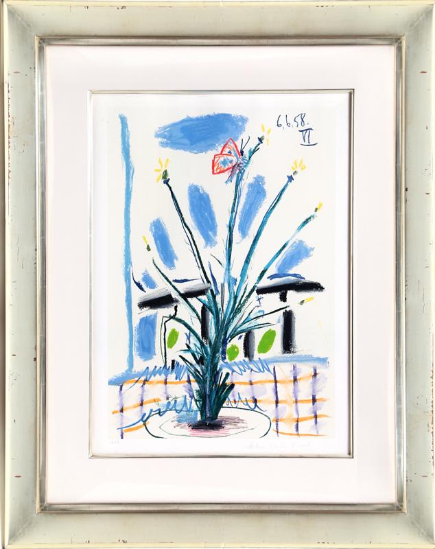 Pablo Picasso, Le Bouquet, Lithograph