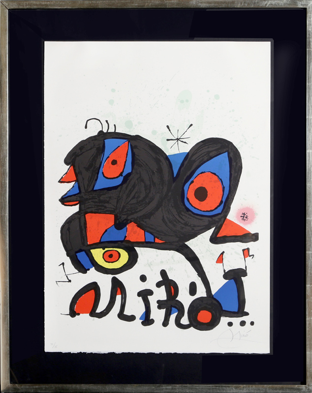 Joan Miro, Louisiana Museum, Lithograph