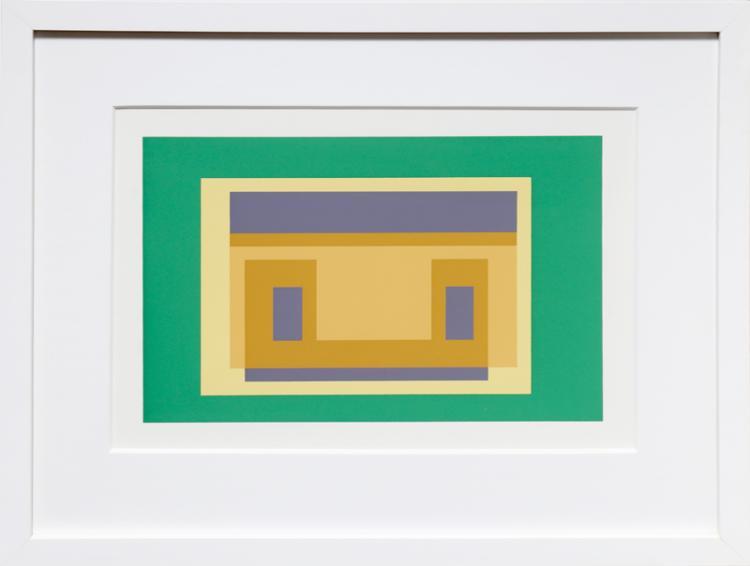 Josef Albers, Portfolio 2, Folder 29, Image 2, Formulation Articulation, Silkscreen