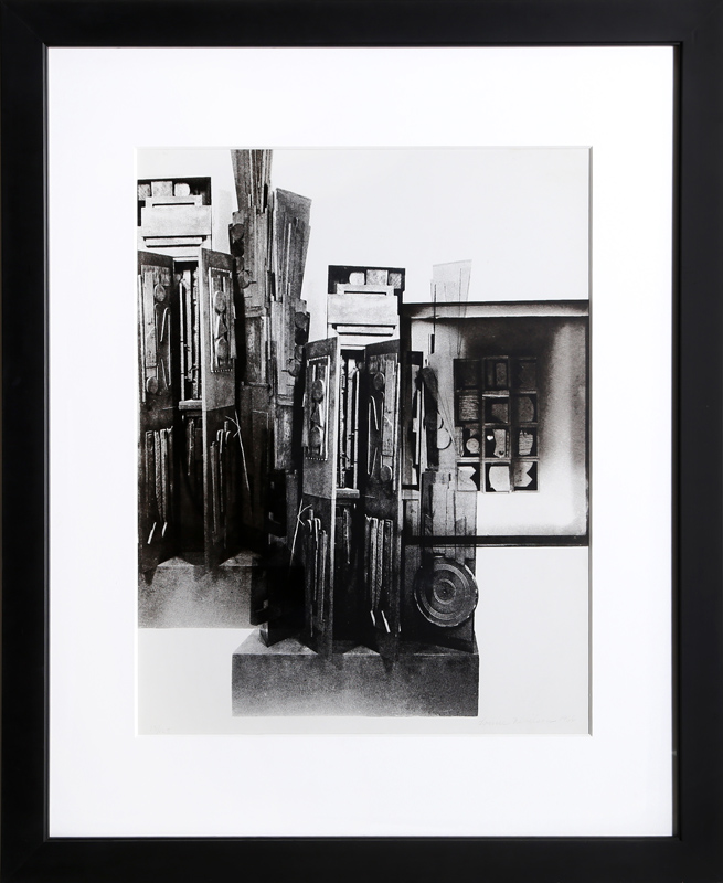 Louise Nevelson, Facades 3, Silkscreen
