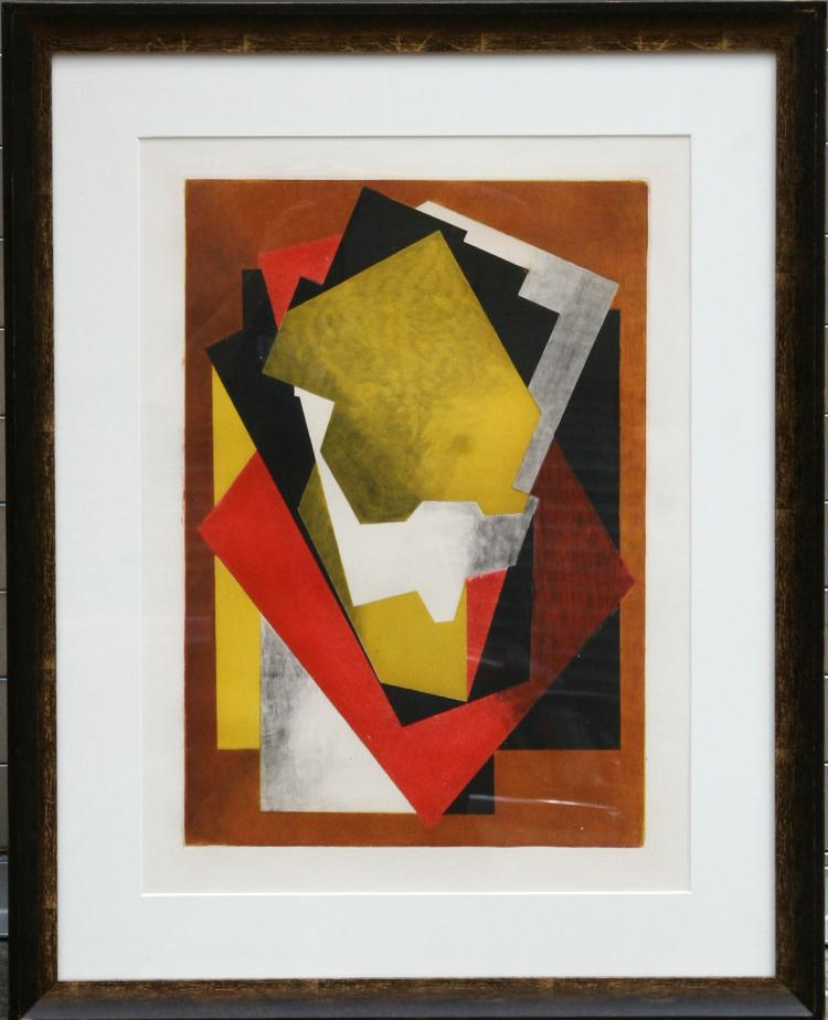 Jacques Villon, Composition, Aquatint Etching
