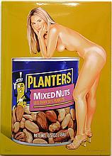 Mel Ramos, Mixed Nuts, Enamel on Steel