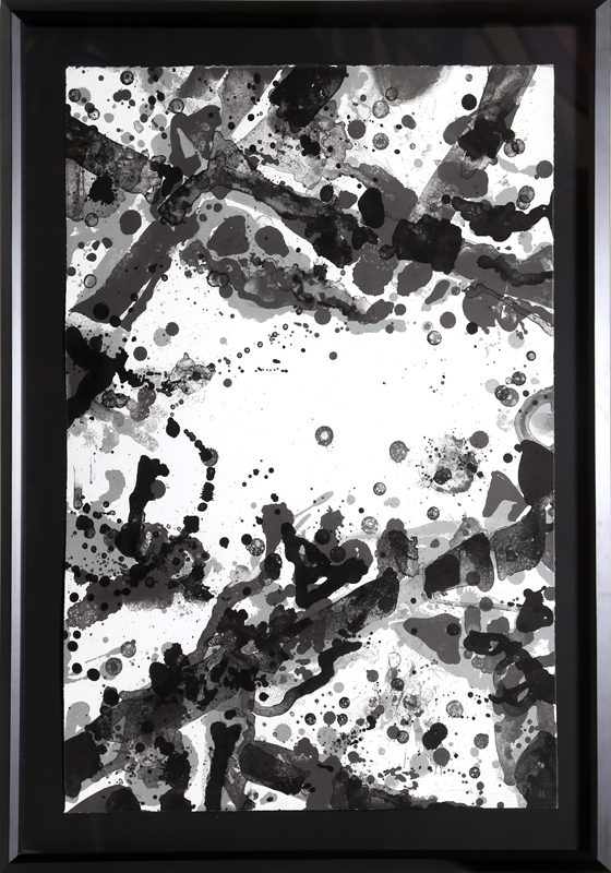 Sam Francis, Metal Field, Lithograph