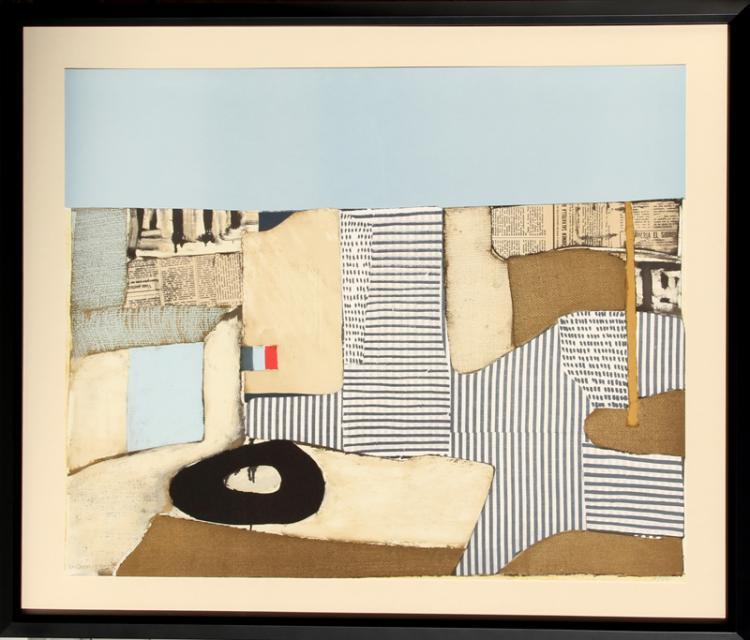 Conrad Marca-Relli, Villa Nueve, Lithograph