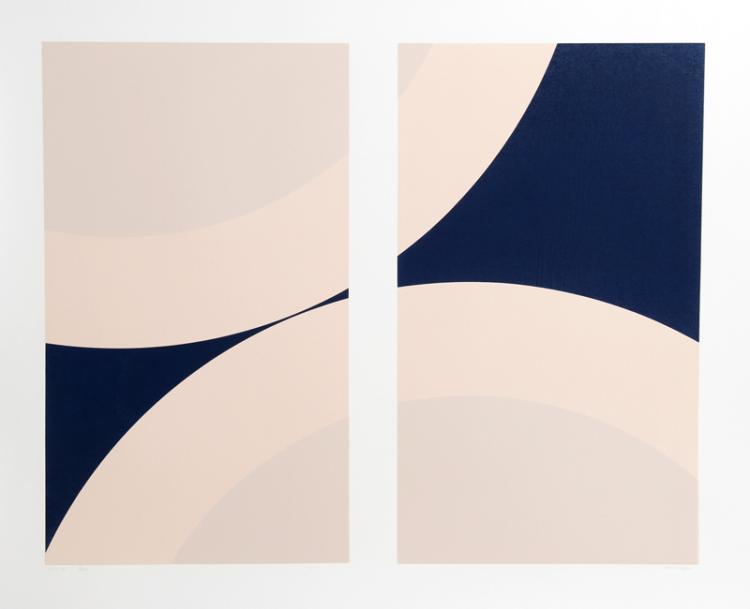 Nassos Daphnis, SS 14-78, Silkscreen