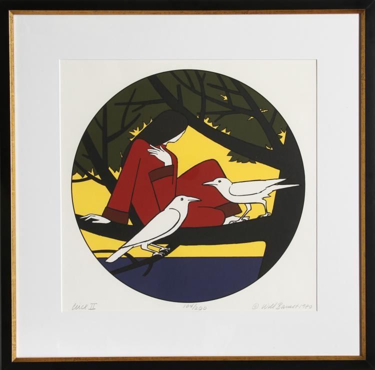 Will Barnet, Circe II, Serigraph