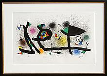 Joan Miro, Sculptures, Lithograph