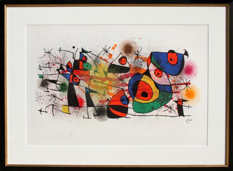 Joan Miro, Ceramiques, from Ceramiques de Miro et Artigas, Lithograph