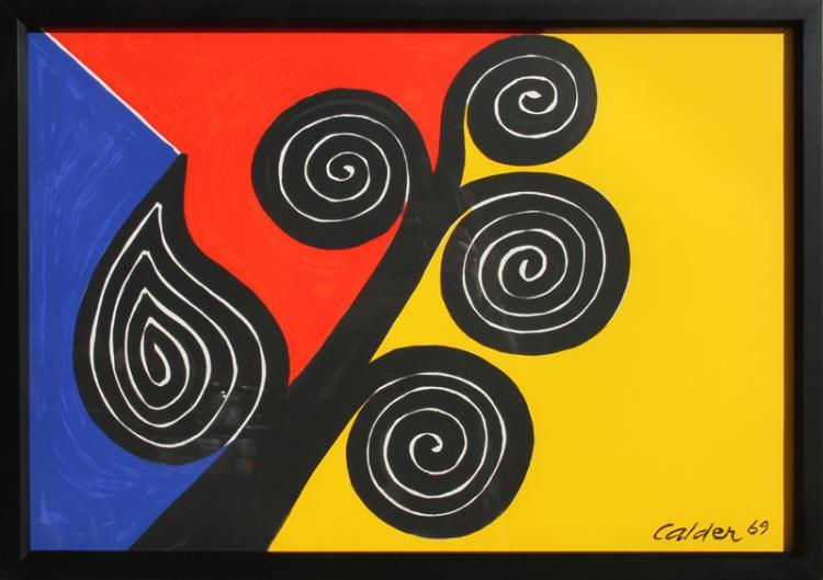 Alexander Calder, Autumn Harvest, Lithograph