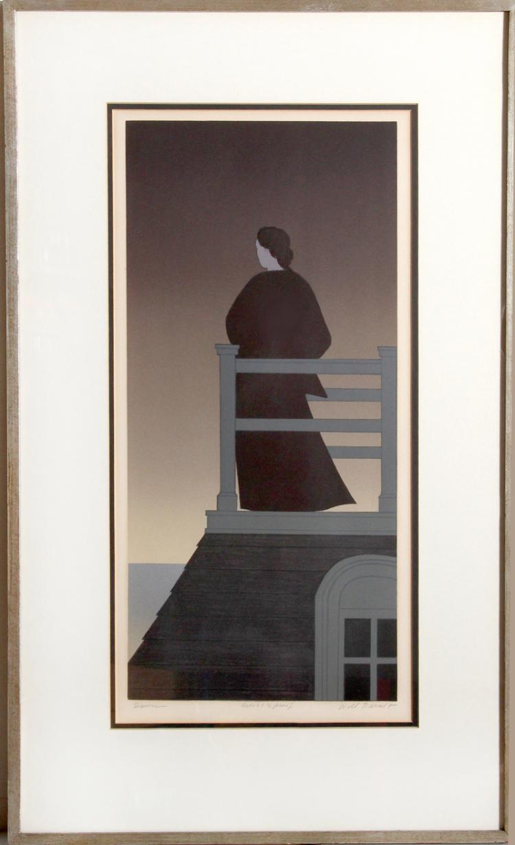 Will Barnet, Dawn, Lithograph