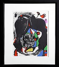 Joan Miro, Les Revolutions Sceniques du XXe Siecle - II, Lithograph