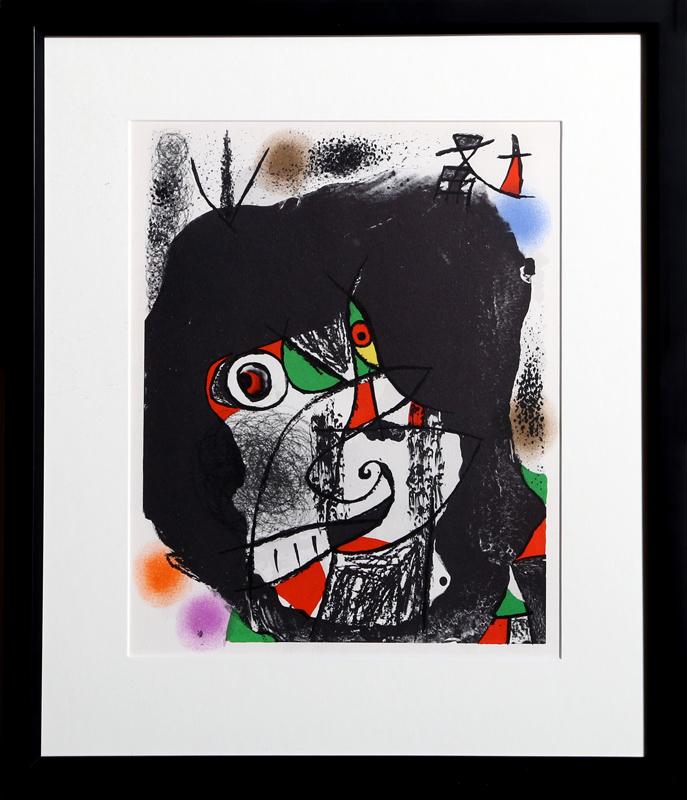 Joan Miro, Les Revolutions Sceniques du XXe Siecle - I, Lithograph