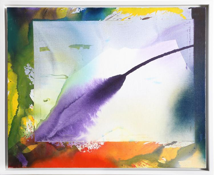 Paul Jenkins, Phenomena West Wind Sounding, Painting