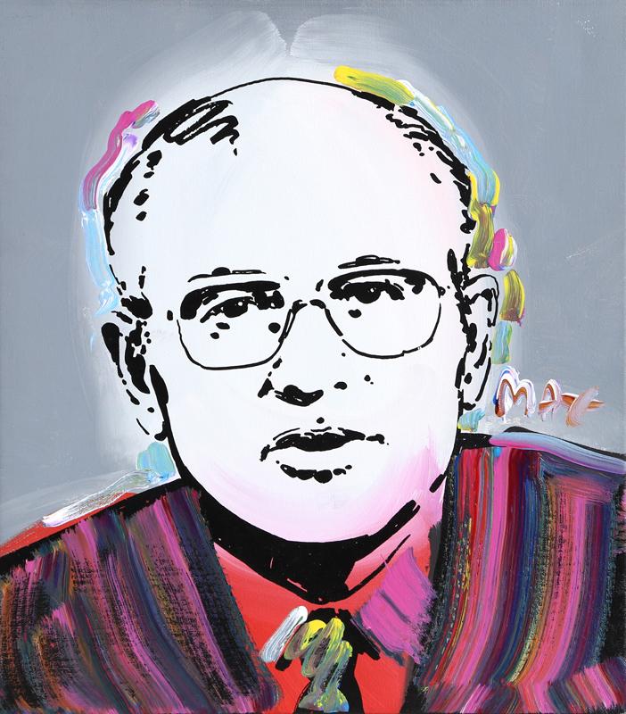 Peter Max, Gorbachev, Painting
