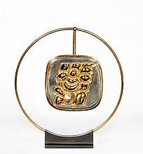 Miguel Berrocal, Torso Verona (Gold), Gold Necklace Sculpture
