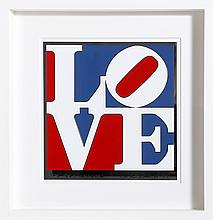 Robert Indiana, The American Love, Enamel on Aluminum